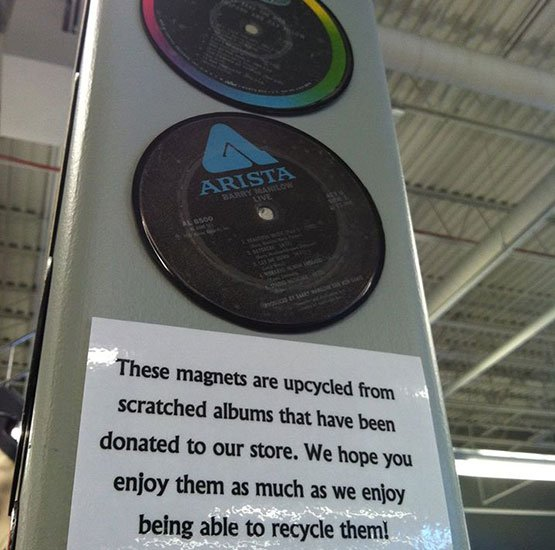 MVAC Thrift Stores Upcycle Records